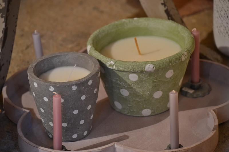 Candele artigianali: nuovi profumi