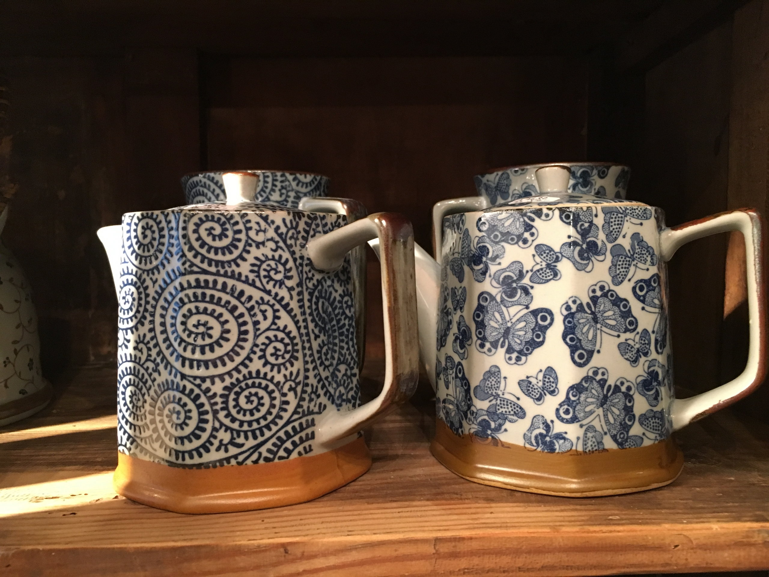 Teiere in ceramica giapponesi
