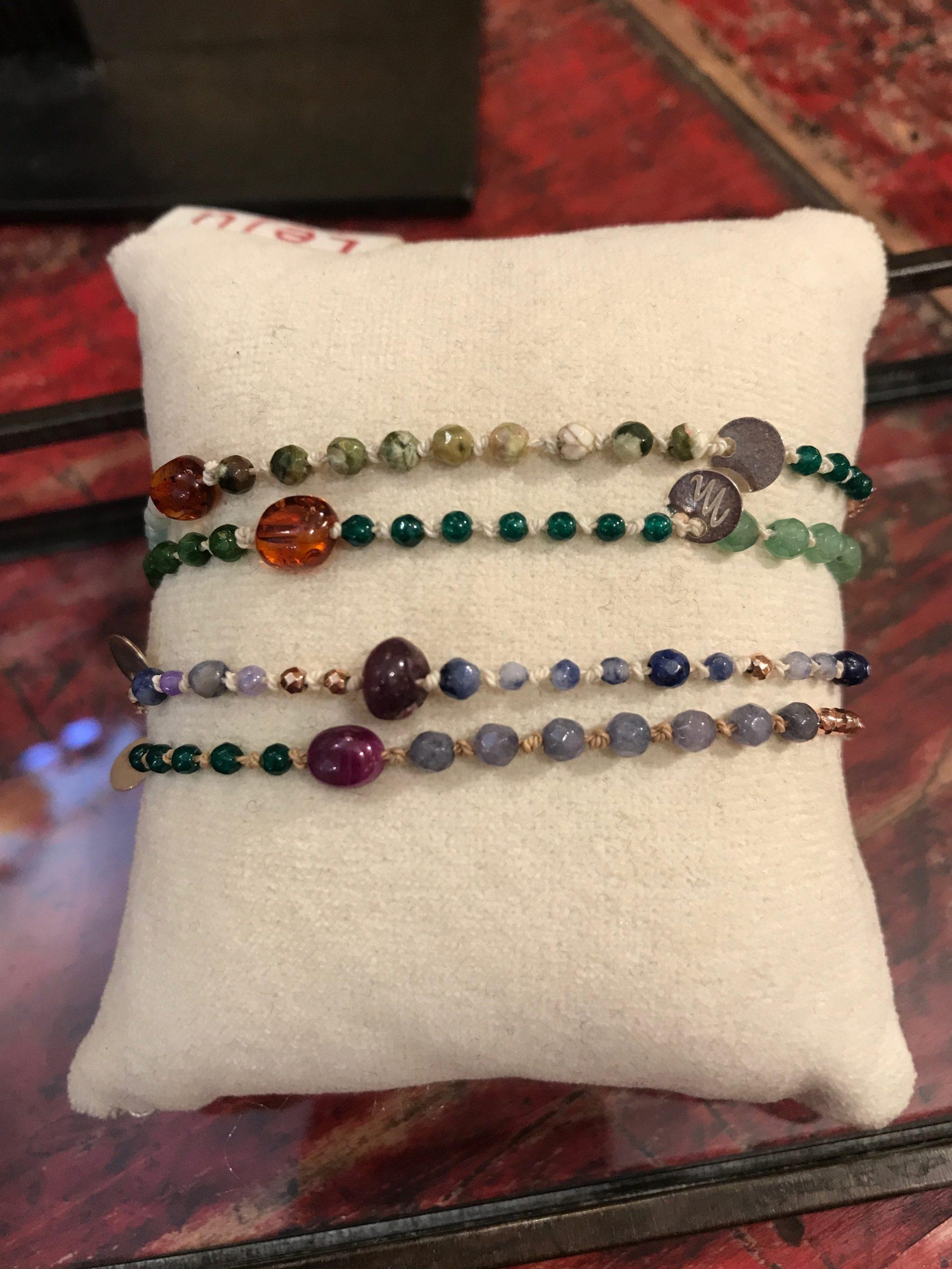Bracciale braccialetto pietre