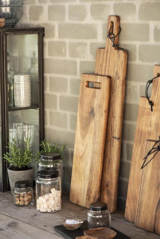 Assi in legno di acacia per aperitivo