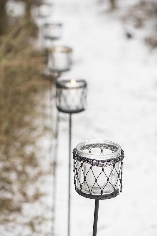 Lanterne da giardino e lanterne esagonali