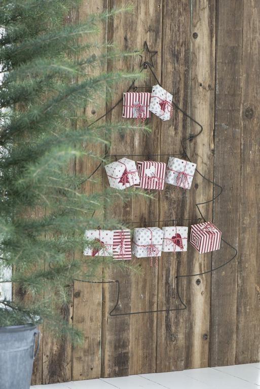 Decorazioni Natale vintage chabby elfi