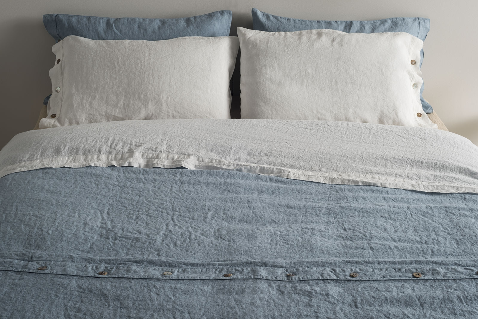 lino letto lenzuola federe copripiumo