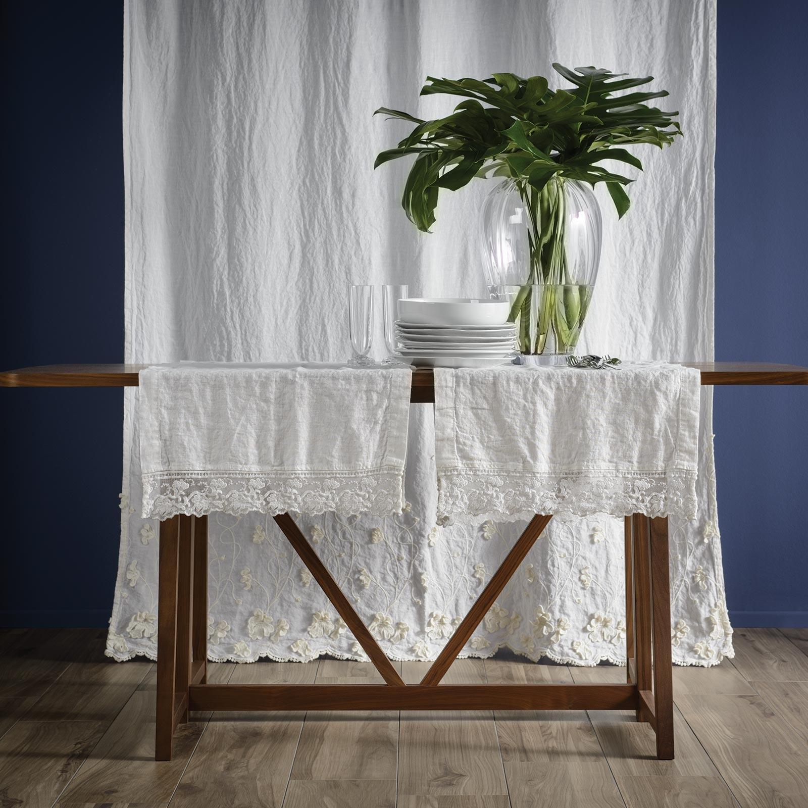 lino tavola, tovaglie, set da tavola, runner