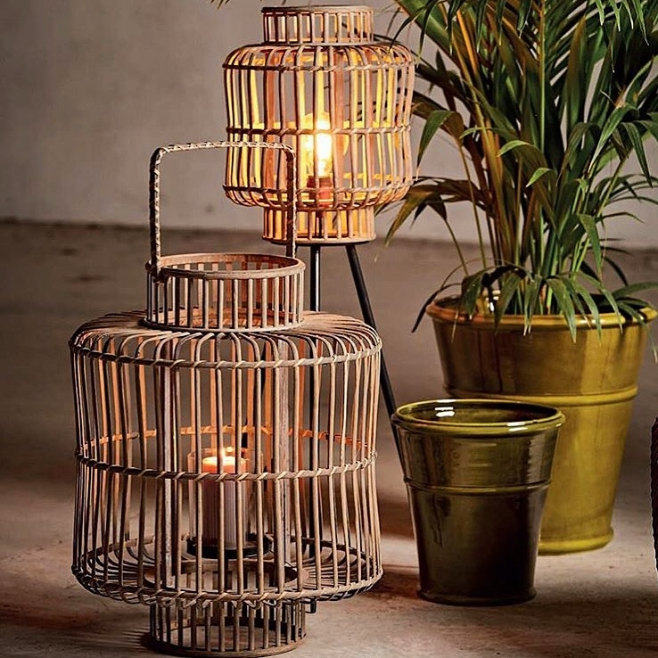 Lanterne in bamboo