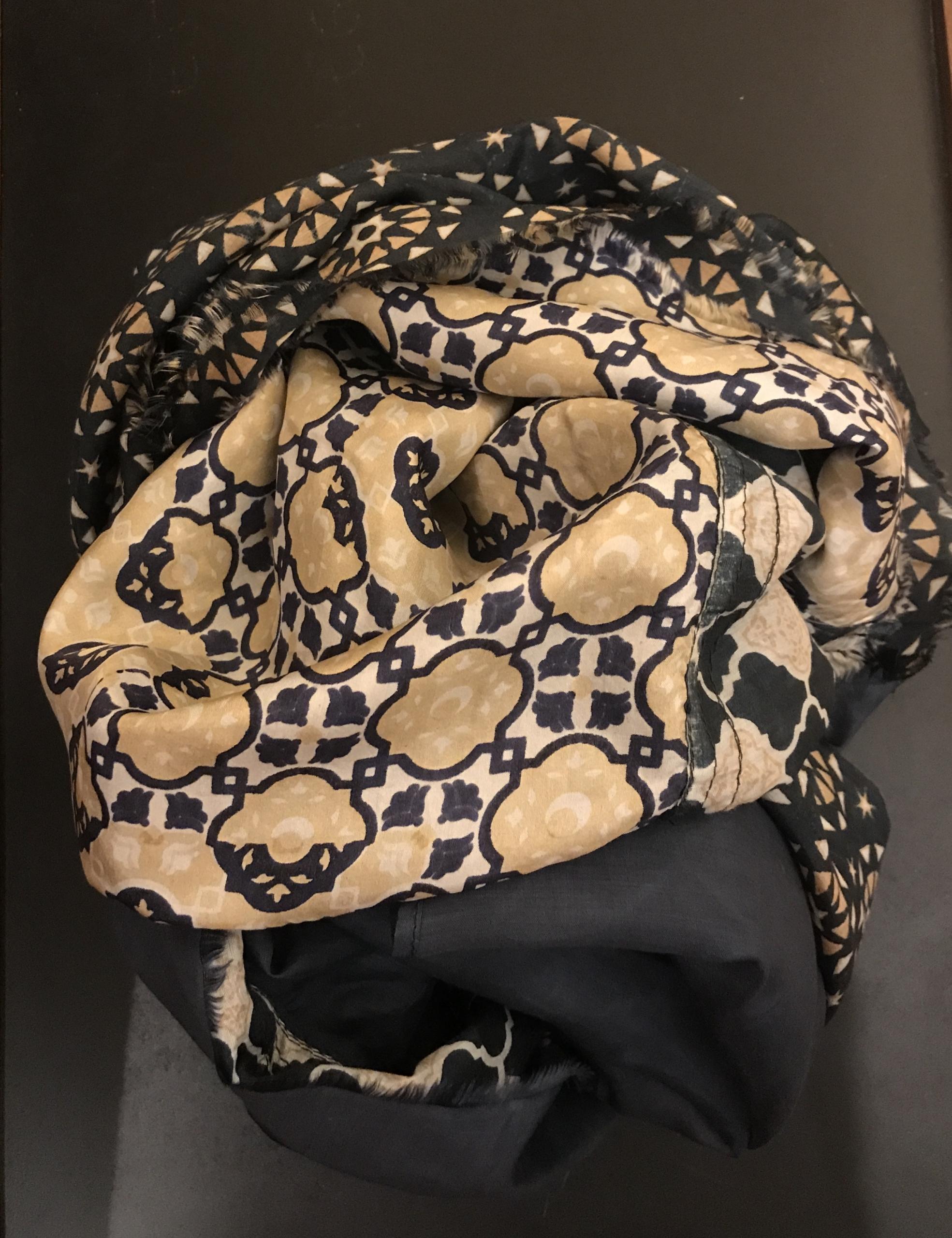 Sciarpe, stole, foulard, seta, lana viscosa