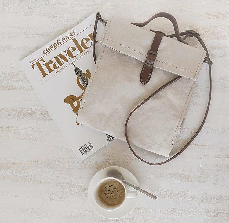 Uashmama - paper bag - lavabile- ecologica