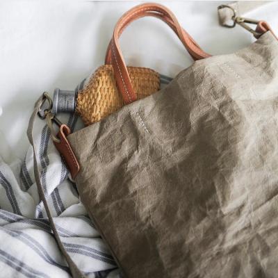 Uashmama  borse e accessori carta lavabile – ecologica – artigianale