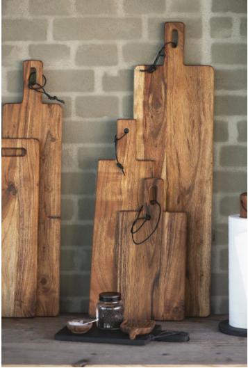 Taglieri in legno di acacia - aperitivo
