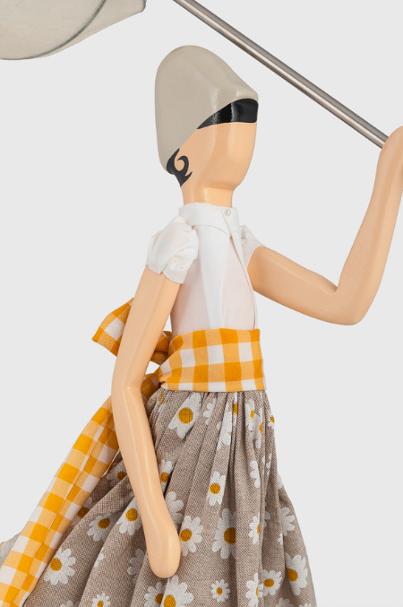 Lampada bambola Margarita