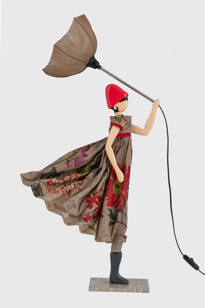 Lampada bambola Vasilia