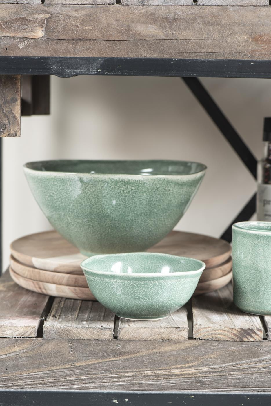 Servizio piatti in gres porcellanato