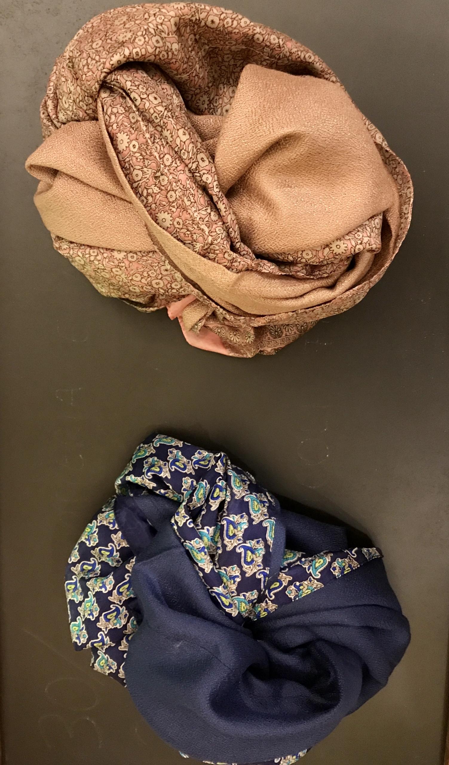 Le sciarpe seta…viscosa…lana…