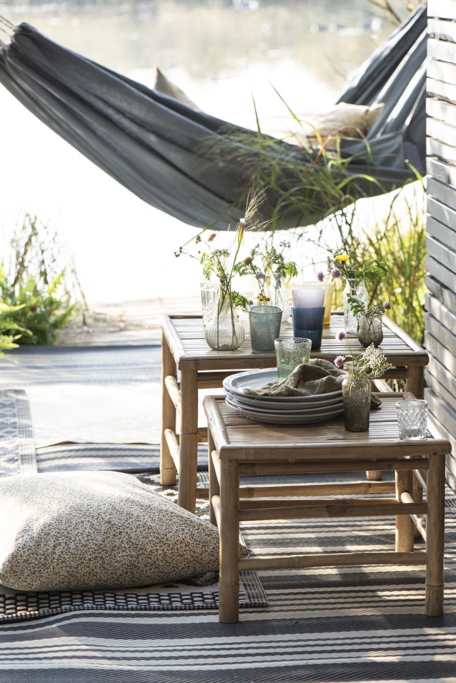 Tavolini in bamboo