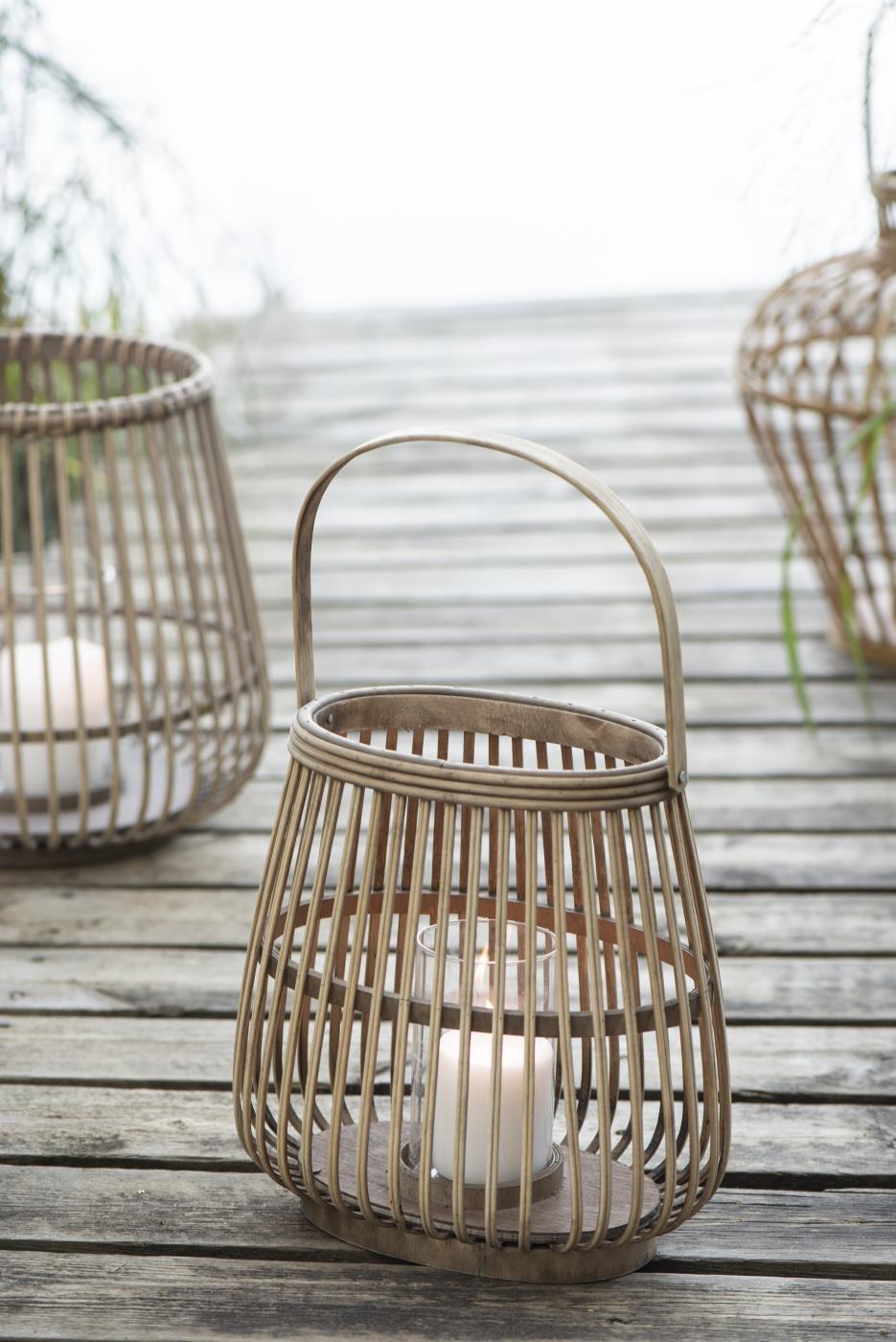 Lanterna in bamboo