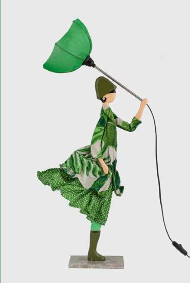 Flerry lampada bambola