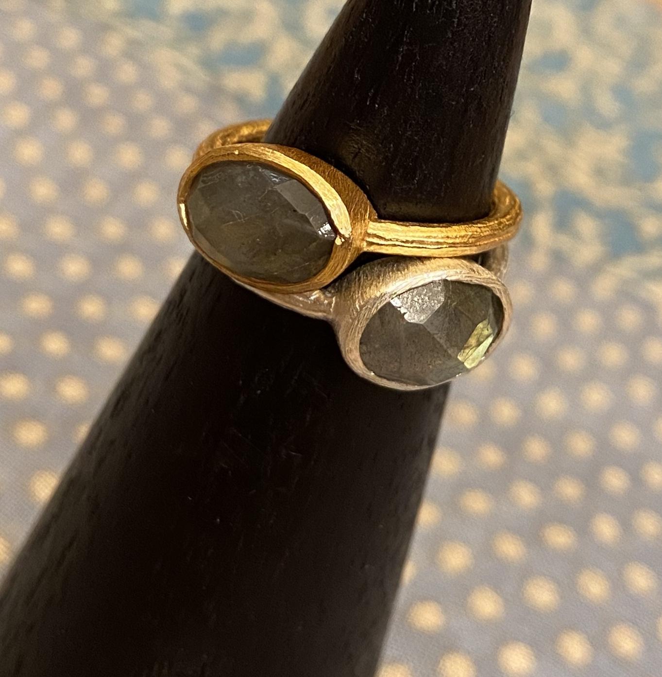 Anelli in argento con pietre