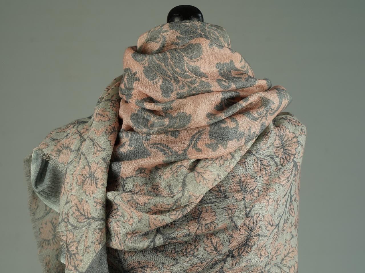 Sciarpa lana seta