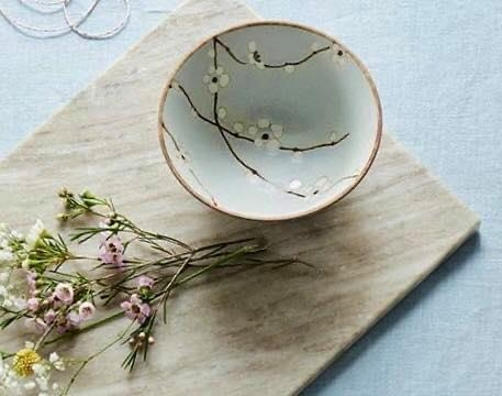 Servizi giapponesi, i fiori di ciliegio