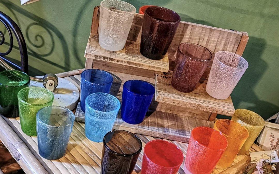 Colorati in pasta di vetro