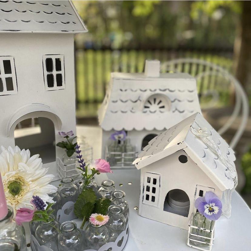 decorazioni e casette